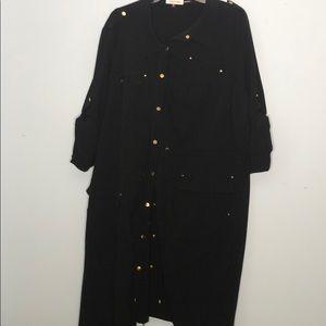 Calvin Klein Shirt dress 2X
